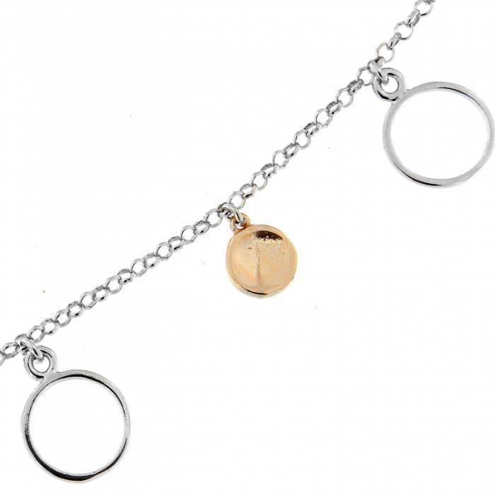 Bracelet Argent 925 ref 45105 Rose