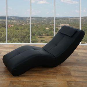 chaise longue chaise longue fauteuil lounge livorno ii pu noi - Fauteuil Chaise Longue