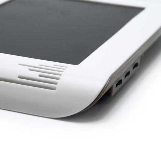 EXTEL Visiophone Nova 2 fils blanc avec écran couleur 7\