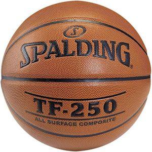 BALLON DE BASKET-BALL SPALDING Ballon Basket-ball TF 250 Taille 6