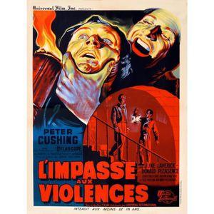 AFFICHE - POSTER IMPASSE AUX VIOLENCES (L') reproduction affiche de
