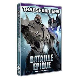 DVD FILM DVD - Transformers prime : bataille épique, saison