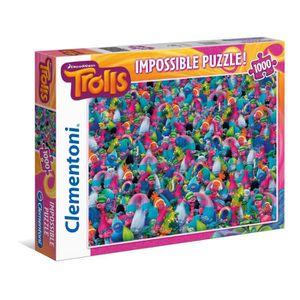 PUZZLE Clementoni - 39369.5 - Puzzle Impossible  - Les Tr