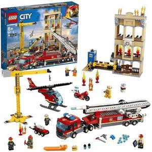 ASSEMBLAGE CONSTRUCTION LEGO® 60216 Les pompiers du centre-ville
