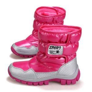APRES SKI - SNOWBOOT Chaussure des Neiges Bottes après-ski Enfantes Uni