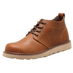 DERBY Chaussures à la main mens rétro chaussures de marq