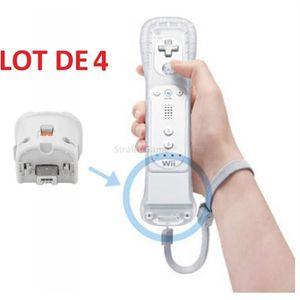 ADAPTATEUR MANETTE 4 x Wii motion plus pour manette Wiimote Nintendo