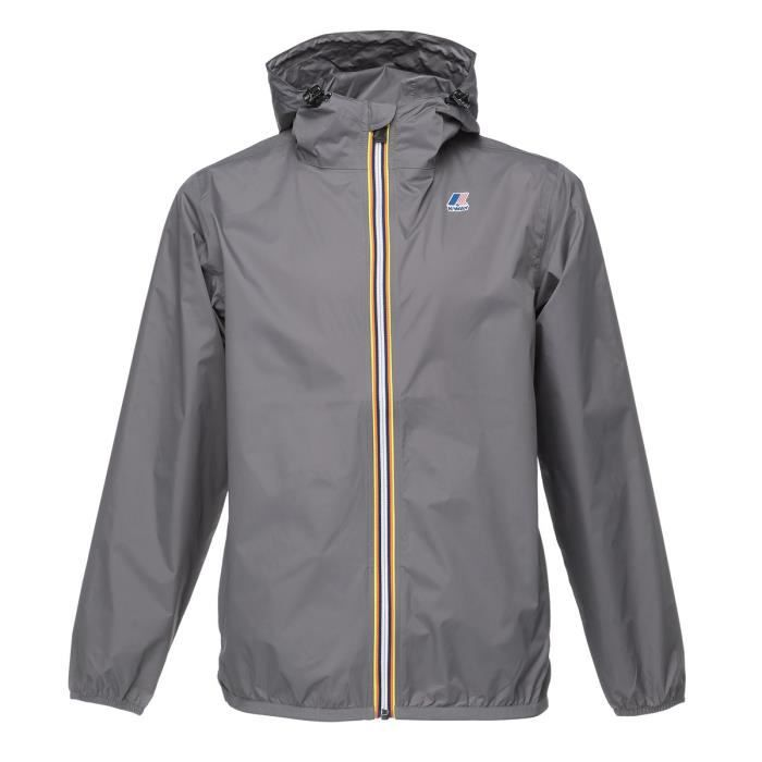 K-WAY Coupe-vent - Homme - Gris smoke