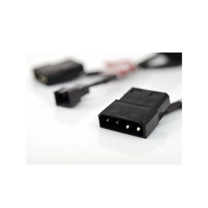 Noctua Kit pour ventilateur NA-SAC1 - 3 câbles adaptateurs vers connecteurs 4-broches