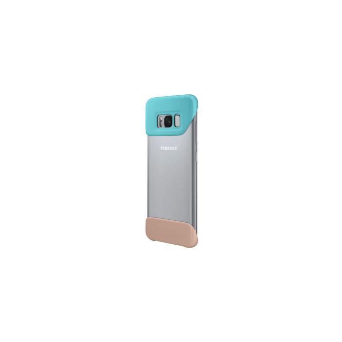 Samsung Coque Pop S8 - Transparente et Verte