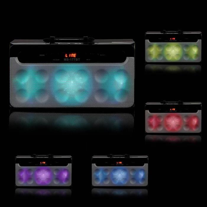 Sport Bluetooth Sans Fil Haut-parleur Portable Super Bass Avec Radio Usb - Tf Aux Fm Ngh61205103