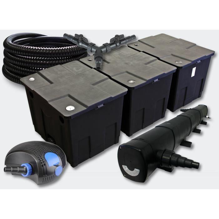 kit filtration complet 72w pour bassins de 50000 l achat vente bassin d 39 ext rieur kit. Black Bedroom Furniture Sets. Home Design Ideas