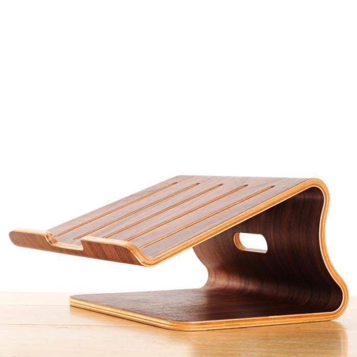 support elegant en bois pour l 39 ordinateur portable prix pas cher cdiscount. Black Bedroom Furniture Sets. Home Design Ideas
