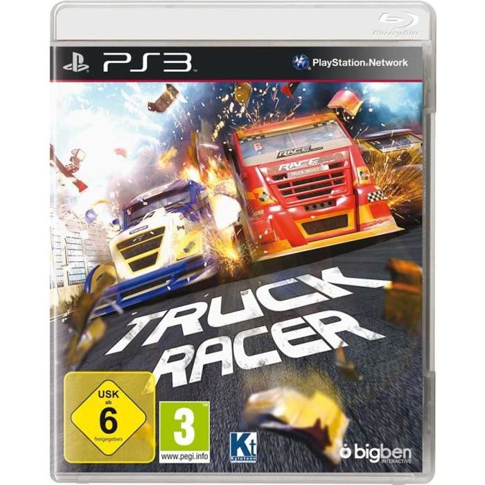 ps3 truck racer achat vente jeu ps3 ps3 truck racer cdiscount. Black Bedroom Furniture Sets. Home Design Ideas