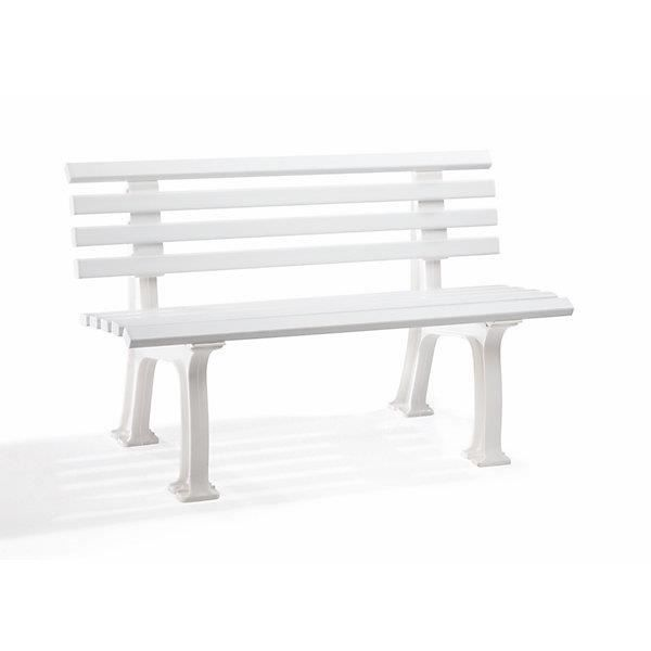 banc plastique blanc - achat / vente banc plastique blanc pas cher