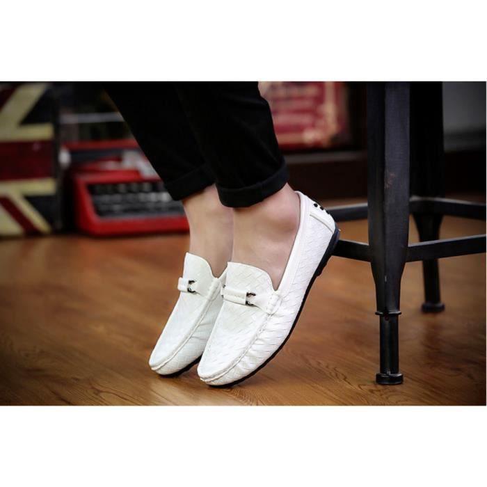 Chaussures Mode Casual Hommes Nouveaux blanc vvYfM