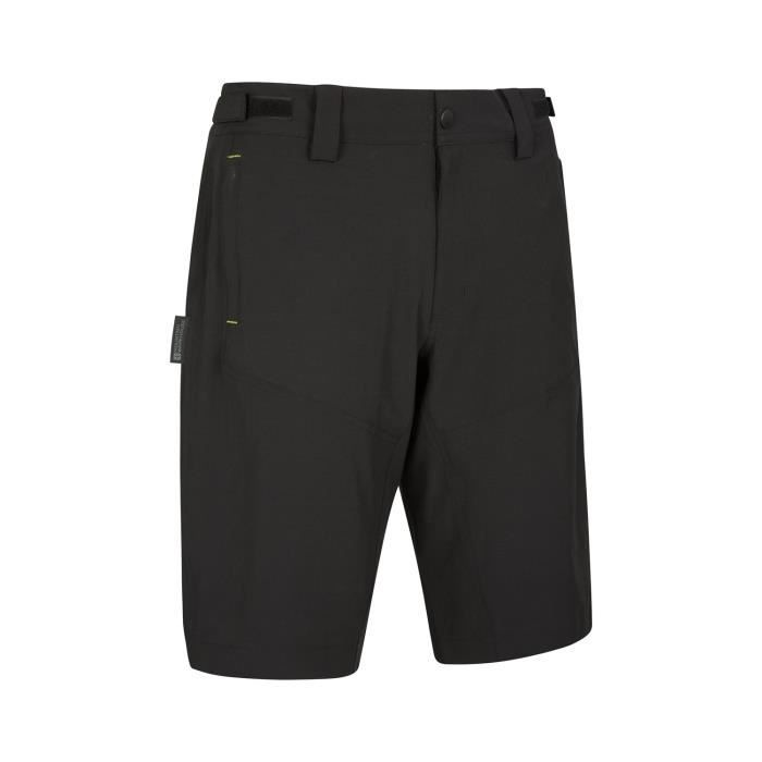 472be12465c7a Mountain Warehouse Mountain 2-in-1 Mens Bike Shorts Noir Noir ...