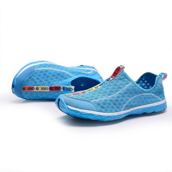 Respirant Chaussures Mocassins Casual jeunes femmes E0l6C9fcp