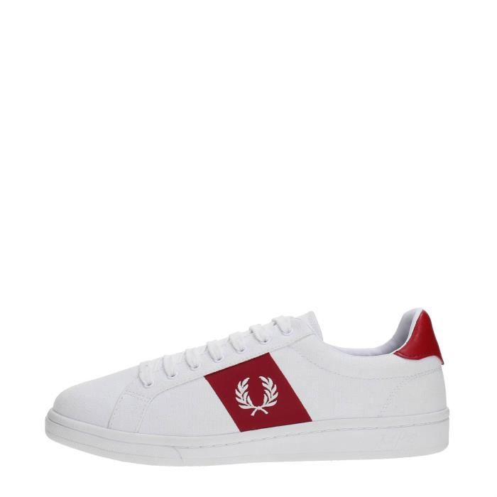 FRED PERRY Sneakers Homme WHITE/RED, 41