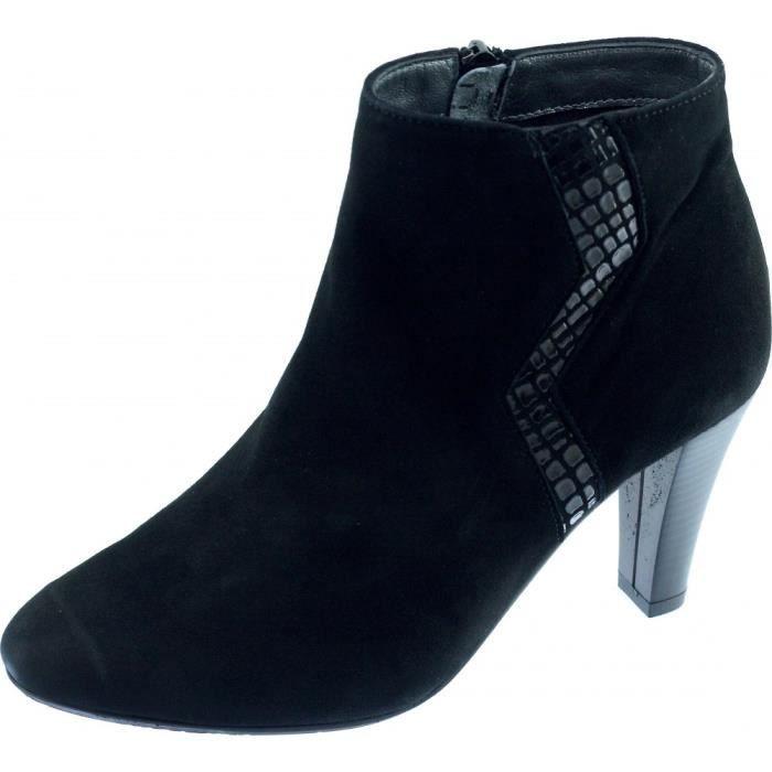 BOTTINE VALDIR - Bottine graphique à talon haut chaussures