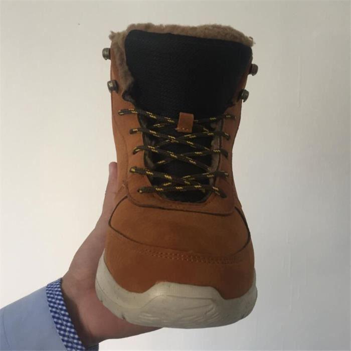 Chaussures de sport hommes Basket mode homme loisirs fourréesChaussures fourrées Chaud Chaussure Hiver Plusdssx440jaune44 I9MlC