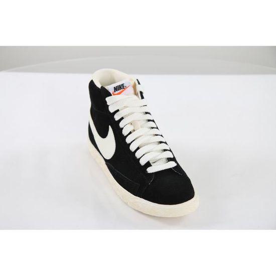 sports shoes ec2b1 0d414 Basket Homme Nike Blazer High Vi... Noir Noir - Achat  Vente basket -  Cdiscount
