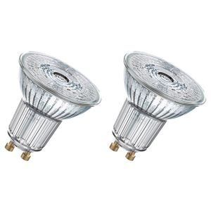 OSRAM Lot de 2 Ampoules spot LED PAR16 GU10 4,6 W équivalent ? 50 W blanc froid dimmable