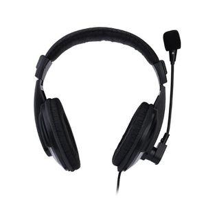 CASQUE - ÉCOUTEURS Casque de jeu filaire avec microphone pour PS4 PC