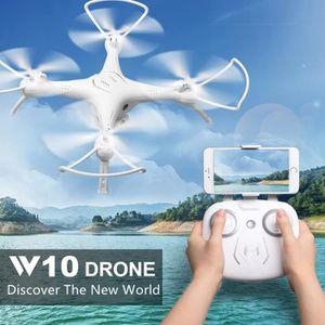 DRONE DRONE Attop W10 Wifi FPV 30W drone quadricoptère à
