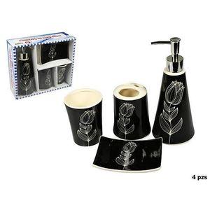SET ACCESSOIRES Set de 4 accessoires salle de bain