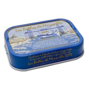 PRODUIT DE SARDINE BELLES DE MARSEILLE Sardine à l'Huile d'Olive