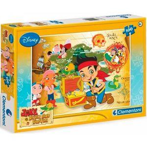 PUZZLE Clementoni - Puzzle Disney Jake et Neverland Pirat