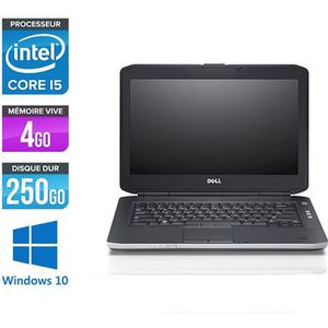 ORDINATEUR PORTABLE Pc portable Dell E5430 - i5 - 4Go - 250Go HDD - Wi