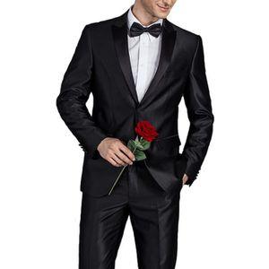 COSTUME - TAILLEUR JTONG Costume homme 2 pieces mariage tenue de soir ... 6d916a0054c
