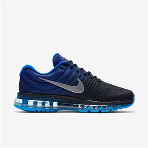 new arrival ce33b 407eb Basket NIKE Air Max 2017 849559-400 Chaussure de running pour Homme  Obsidienne Fnc Blanc Obsidienne Fnc Blanc - Achat   Vente basket - Cdiscount