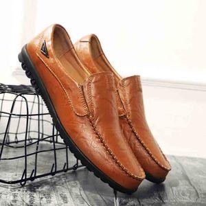 Cher Homme Cuir Chaussure Ville Pas De Souple Vente Achat tshrBQdxC