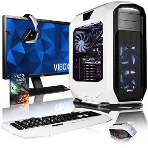 UNITÉ CENTRALE + ÉCRAN VIBOX Rapture XS760-265 PC Gamer Ordinateur avec J