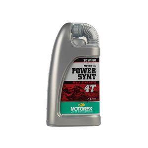 HUILE MOTEUR Huile Power Synth 4T 10W60 1L
