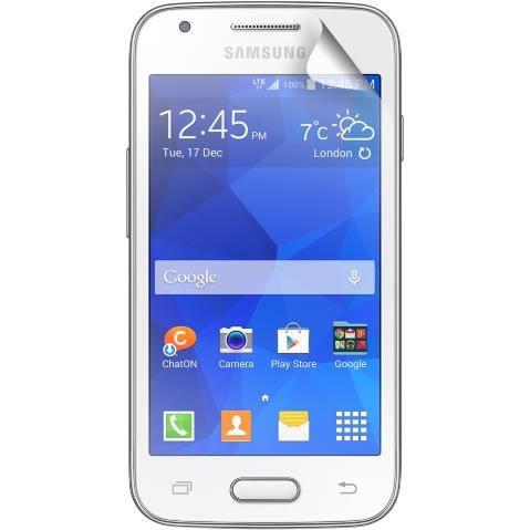 ANYMODE Lot 2 protèges-écran One Touch pour Samsung Galaxy Trend 2 Lite G318 - Transparent