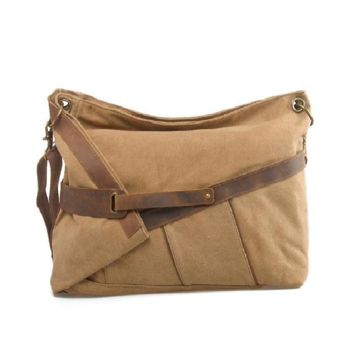 sac à bandoulière super grand sac à main dames de style rétro 50x42x16cm messagerbag c5089 1IUZM0