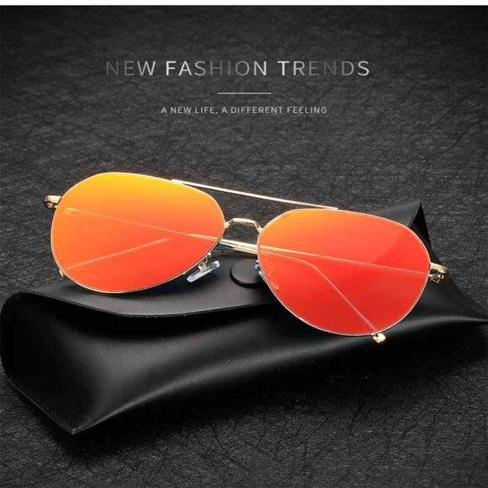 Lunettes de soleil mixte homme et femme Fashion de Magnifique en Métal  Cadre sunglasses marque de 9899c9430784