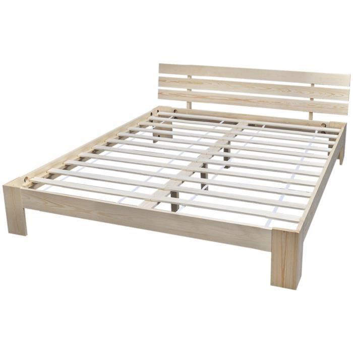 lit complet 160x200 achat vente lit complet 160x200. Black Bedroom Furniture Sets. Home Design Ideas