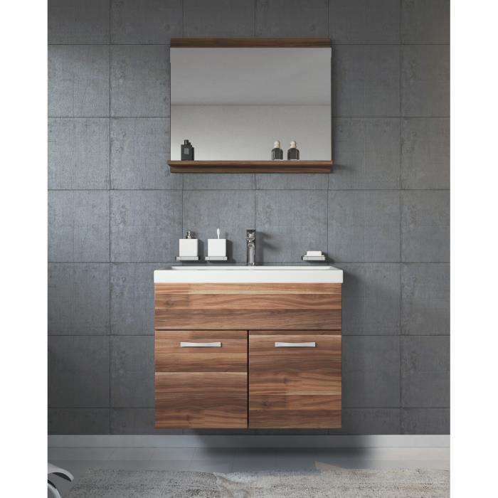Meuble salle de bain petite profondeur - Achat / Vente pas cher