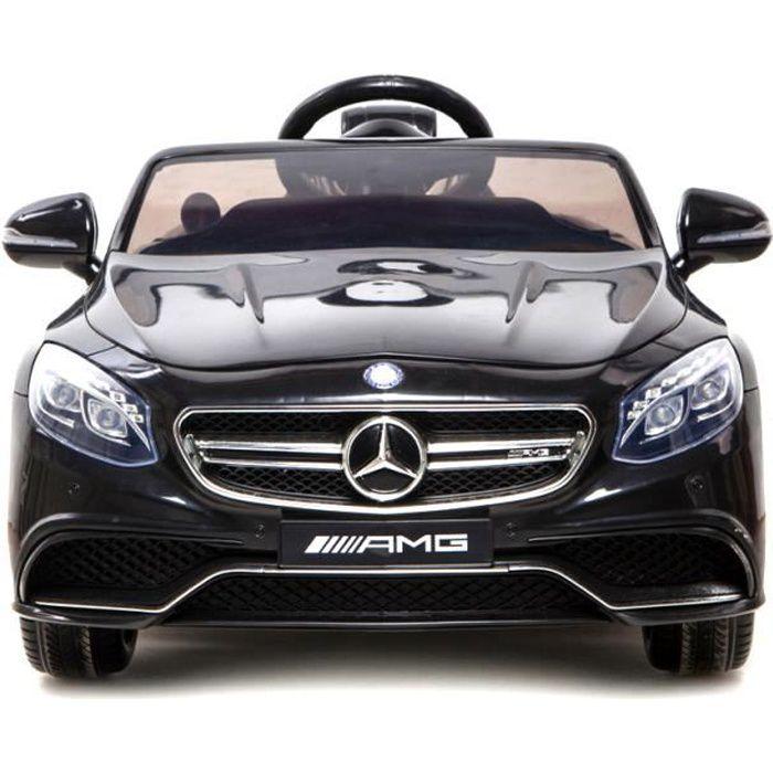S63 Jouet Enfant Mercedes Originale Licence Noir Voiture Pour Deux Moteurs Amg Électrique E9IWDYH2