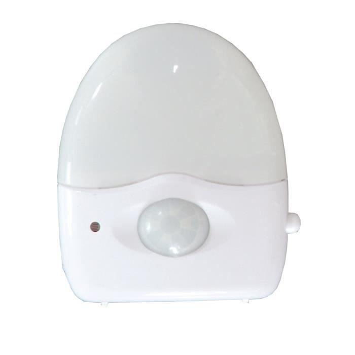 VEILLEUSE CHACON Veilleuse LED avec détecteur de mouvements