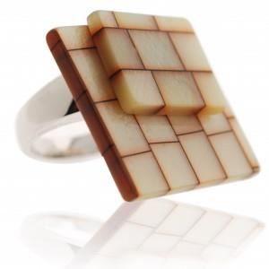Bague La Cubique