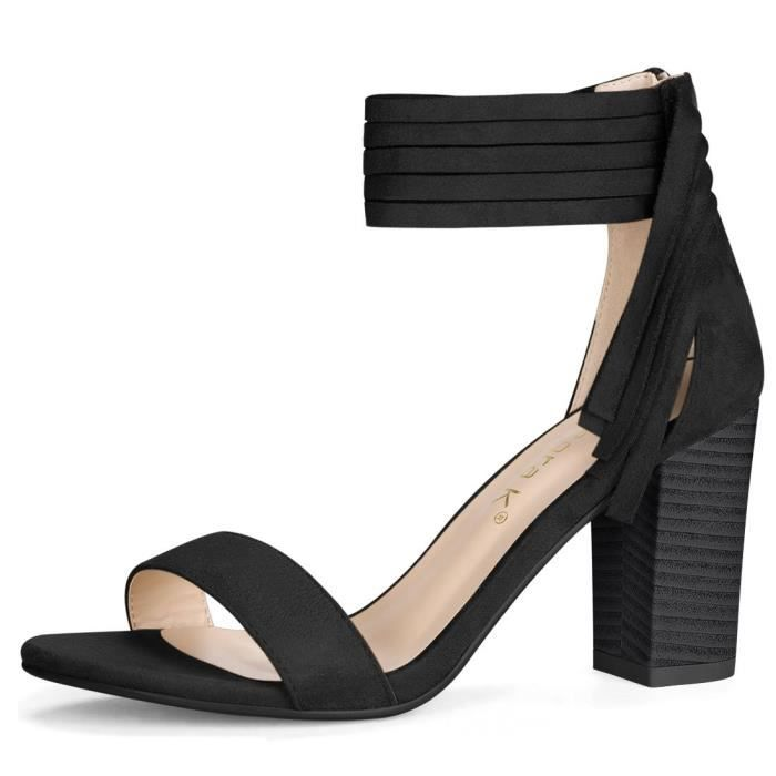 Glands Chunky Heeled Sandales W7TM4 Taille-41 1-2 PSxURVRID