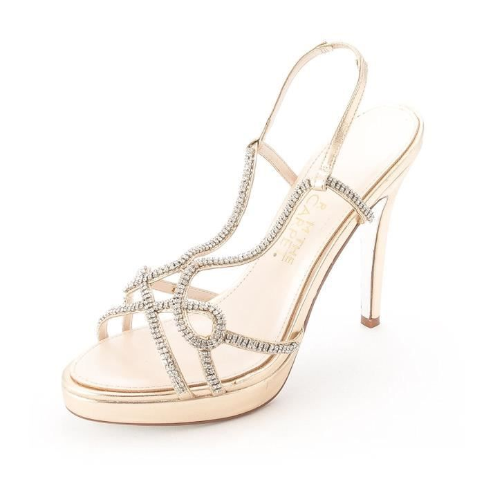 Live Femmes From Talons DAPHNE Carpet À Chaussures Red E The gzz5qw