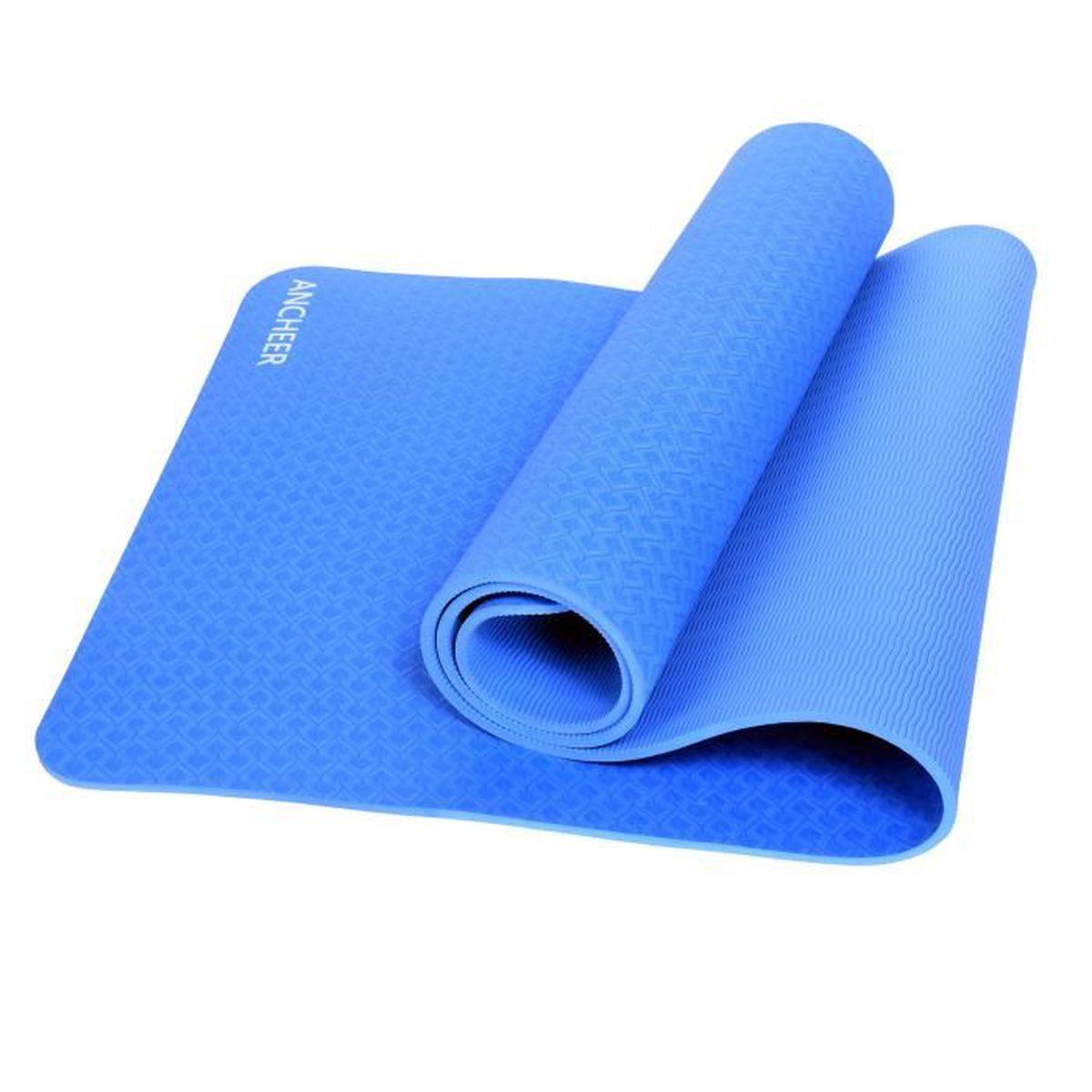 Tapis gymnastique Tapis Sol Tapis Yoga Sport Tapis Tapis d/'entraînement de coffre