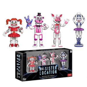 FIGURINE - PERSONNAGE 4 Figurines Funko Action Figures Five Nights at Fr